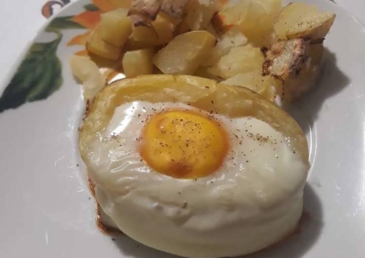 Ricetta Uovo in carrozza di patata