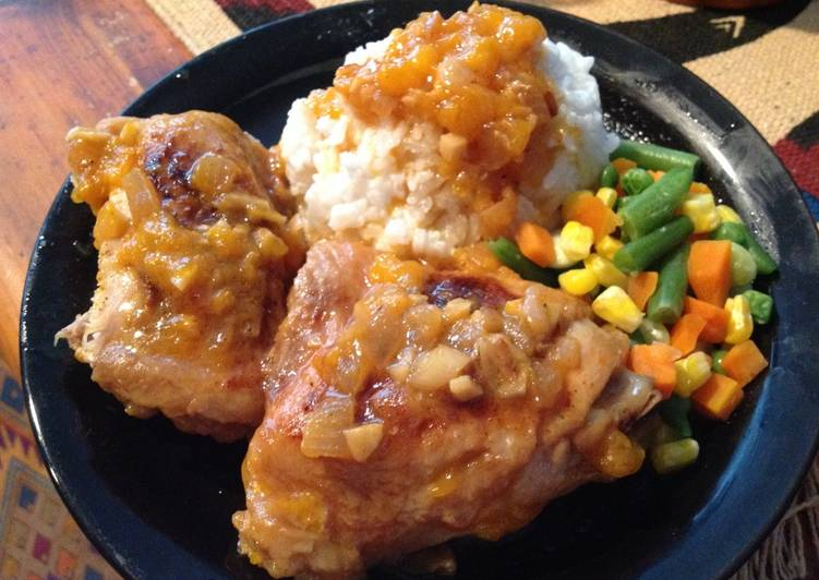Mandarin Onion Chicken