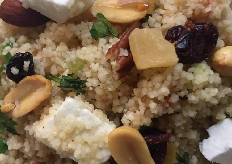 Cous Cous Salad  # new