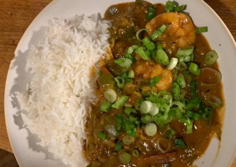 Recipe of Quick Shrimp Etoufee