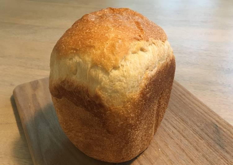 Dairy-free bread: pain de mie with bread maker