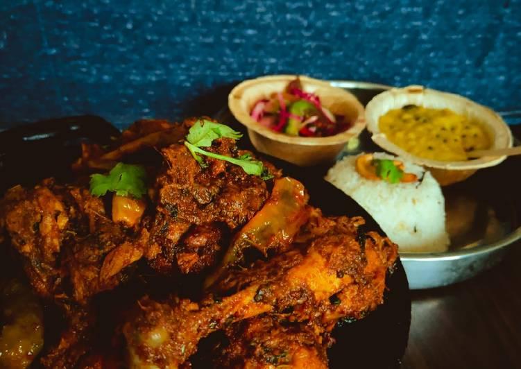 Pakistani streetstyle Chicken Karahi/ Kadai Chicken