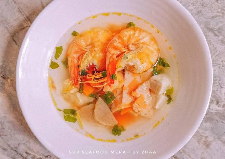 Sup Seafood Merah
