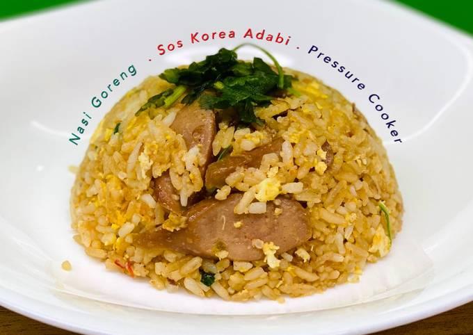Nasi Goreng Sos Korea Adabi Pressure Cooker/Rice Cooker