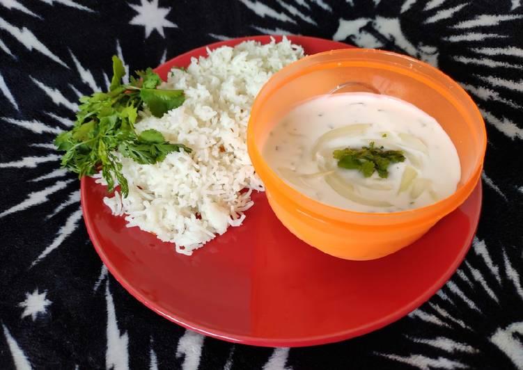 Simple Way to Prepare Speedy Onion Raita