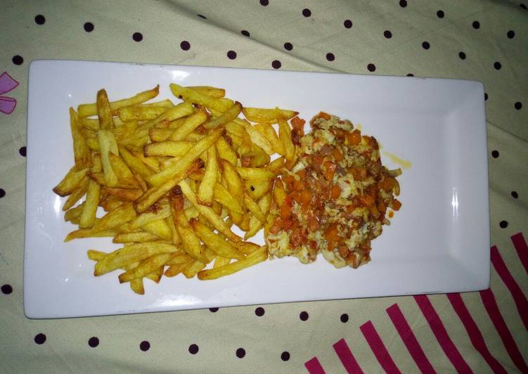 10 Minute Recipe of Cooking Yummy Fattening Lunch