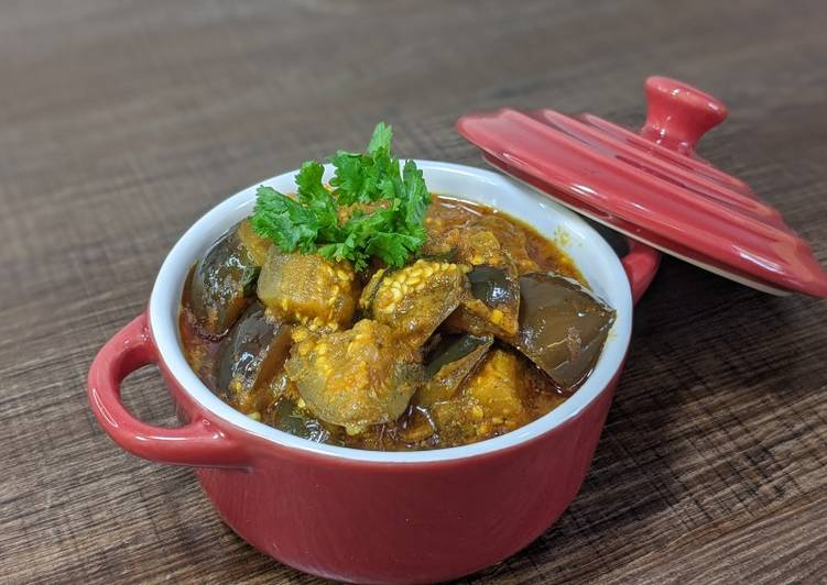 Step-by-Step Guide to Prepare Speedy Eggplant curry/ Vangi Bhaaji/ Brinjal curry