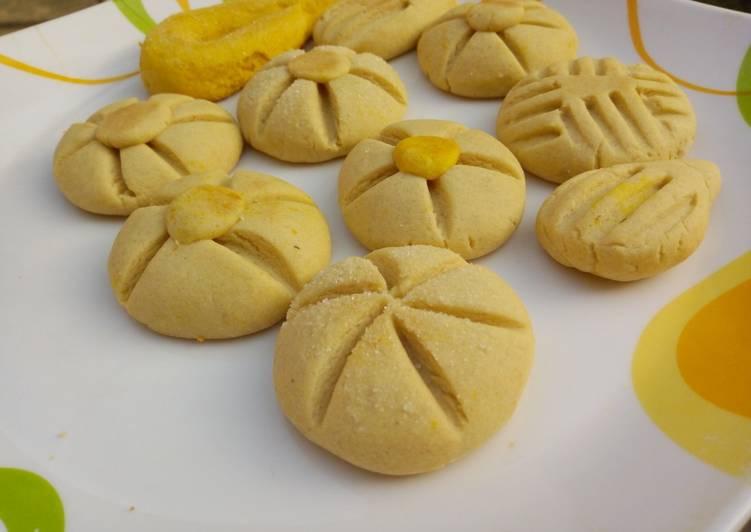Simple margarine cookies