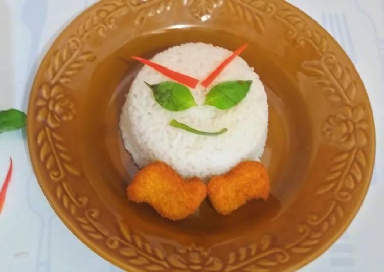 Nasi uduk simple