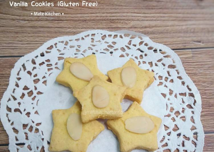 Vanilla Cookies (Gluten Free) #ABK
