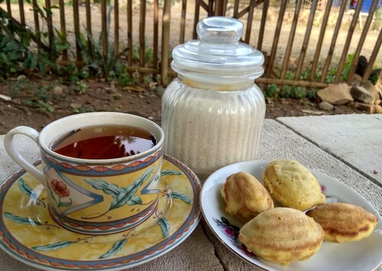 resep buat Bolu Kering Oat Mini (Mini Oat Cake) - Sajian Dapur Bunda