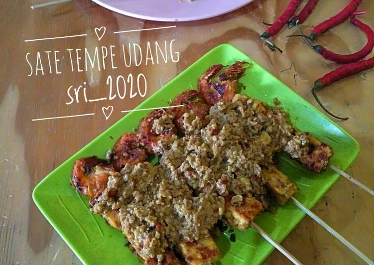 Sate Tempe Udang