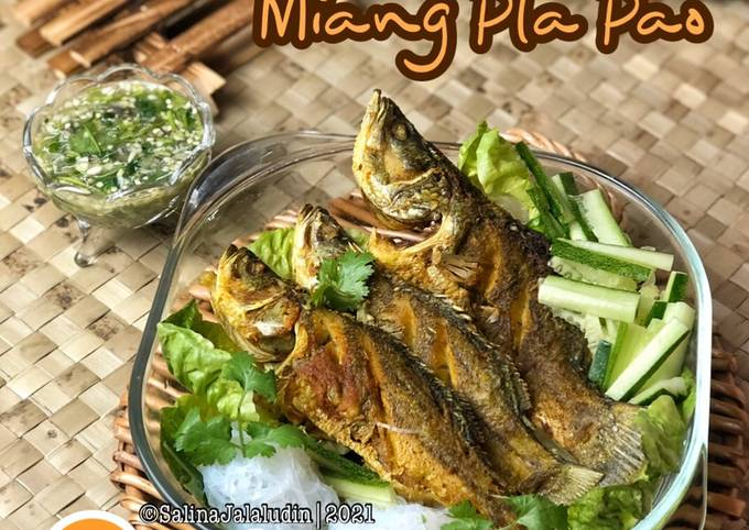 Resep Siakap Miang Pla Pao 🇹🇭 yang Lezat