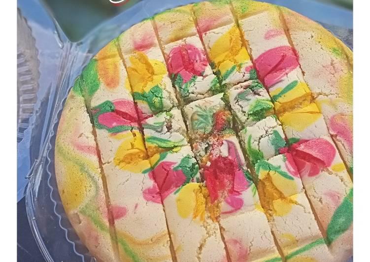 Cake Jelita (3 telur)
