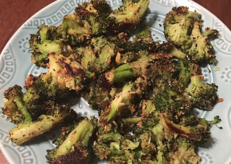 Recipe of Speedy Roasted Broccoli