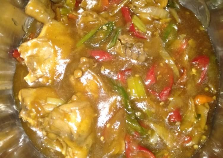Ayam Kecap Spicy Saos Tiram by Uliz Kirei