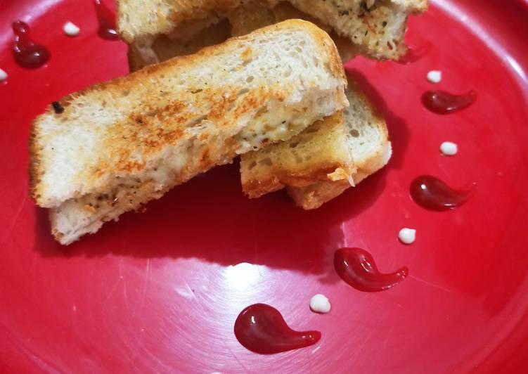 Easiest Way to Make Quick Garlic cheesy breadsticks