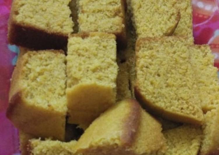 How to Make Speedy Wheat custard cake