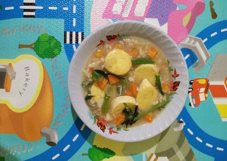 Sapo Tahu Ayam 12m+