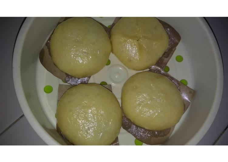 Resep Bakpao Kukus Lembut Magic Com Oleh Dapur Fatimah Cookpad