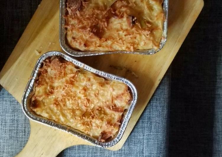 Resep Macaroni / Indomie Schotel Paling Gampang