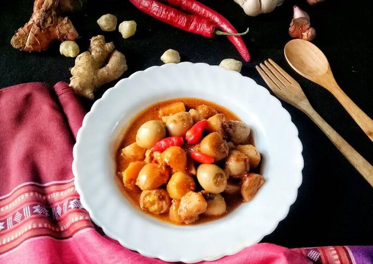 Lagi Viral Resep Sambal goreng kentang dan telur puyuh  Anti Gagal