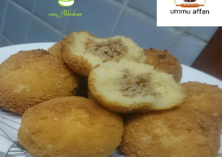 Potatoes balls Choosing Healthy Fast Food