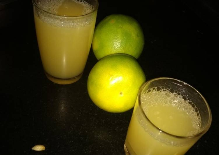How To Make  Sweet lime juice