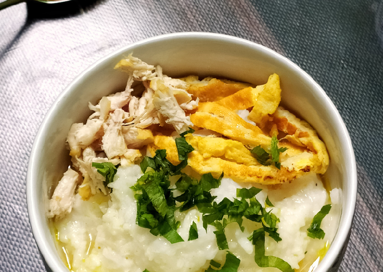 Bubur nasi hanya 5 menit