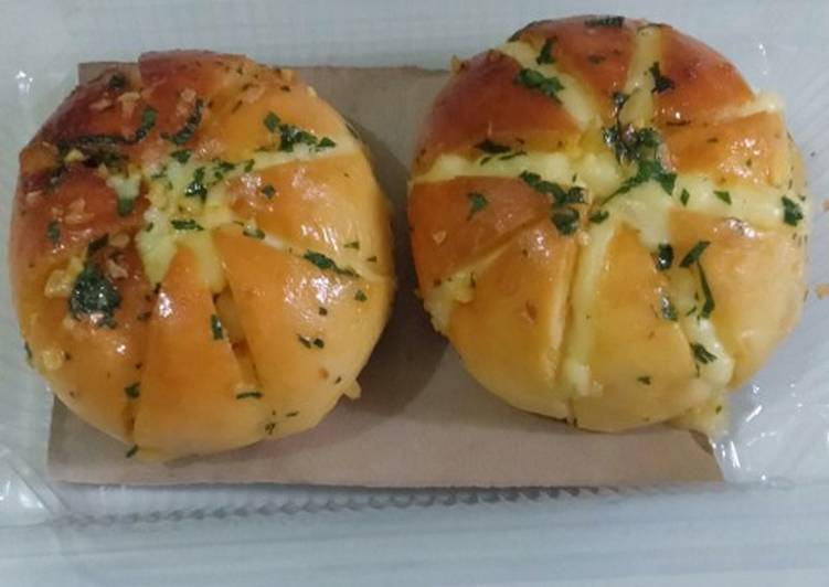 Resep Korean Garlic chesse bread Bikin Jadi Laper