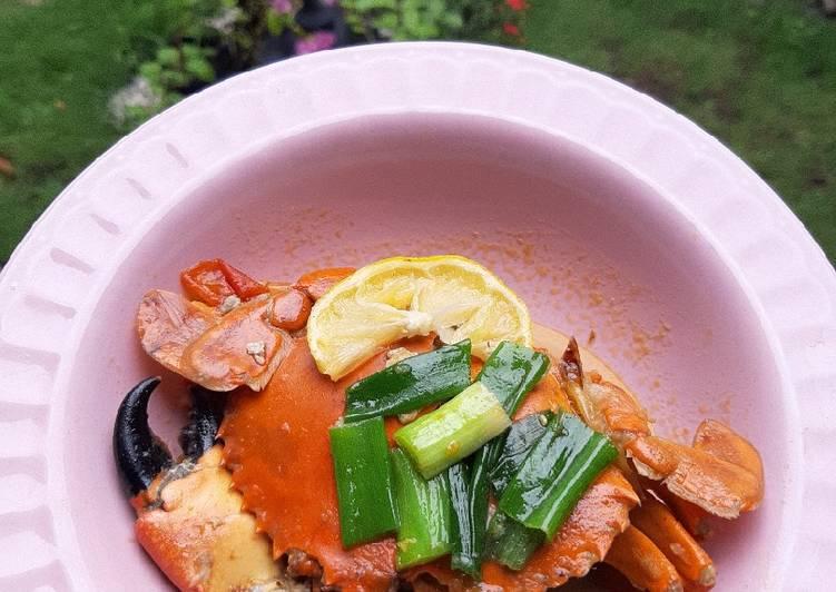 Kepiting asam manis (MPASI 14mos) - cookandrecipe.com