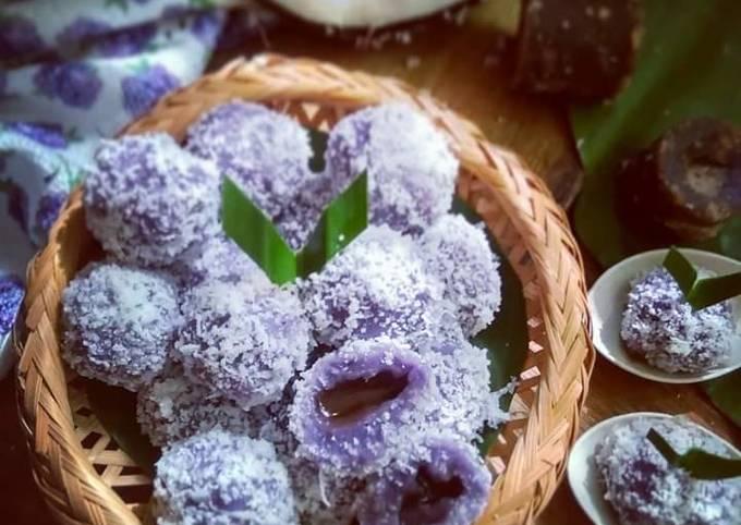 Kuih buah melaka keledek ungu..#MAHN