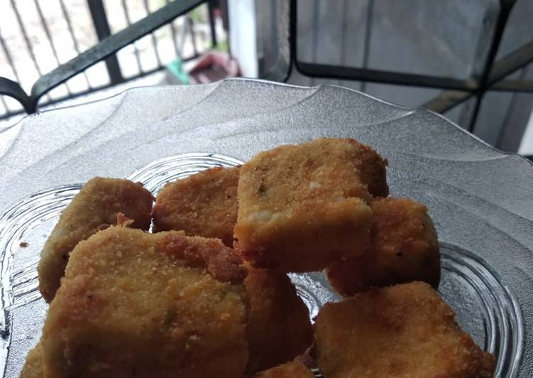 Nugget Tatel (tahu dan wortel)