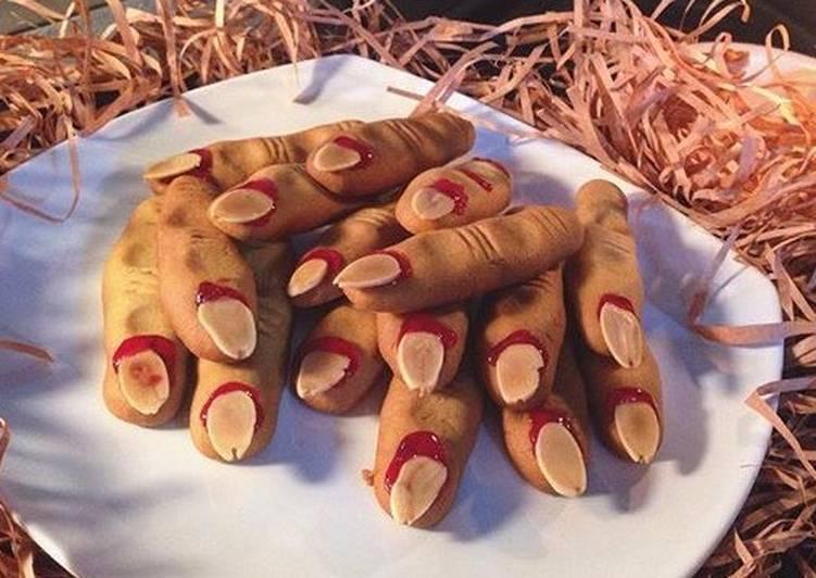Finger Zombie Cookies