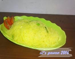 Bihun Kuning tanpa MSG (kesukaan anak-anak) ala IO