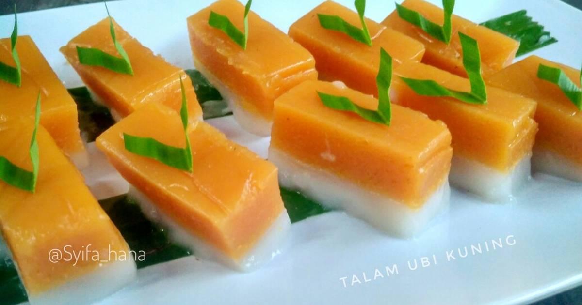 60 Resep Kue Talam Ubi Kuning Enak Dan Sederhana Cookpad