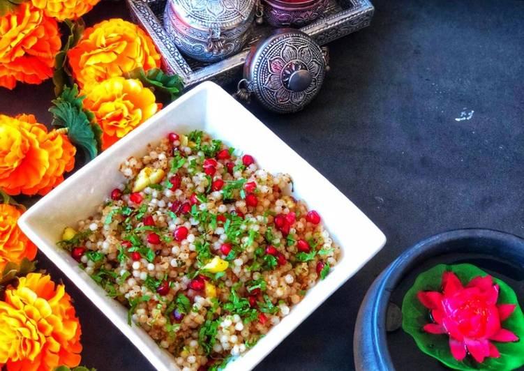 Steps to Prepare Homemade Navratri Navratri Special - Maharashtrian Style Sabudana khichadi