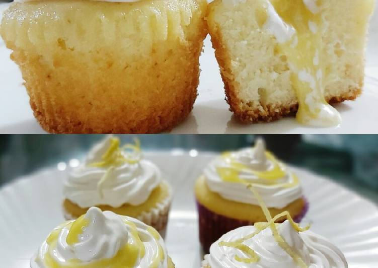 Recipe of Homemade Lime Meringue Cupcakes
