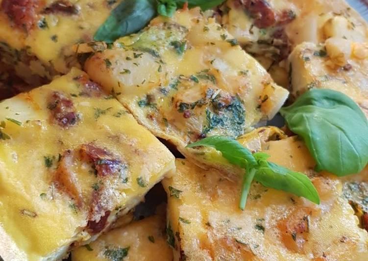 Tortilla mit Chorizo