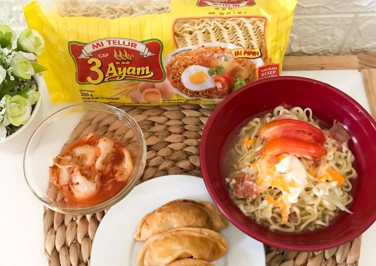 Mi Telur Kimchi