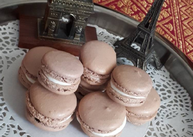 Resep Macarons Par Moi Oleh Madame Rebani Arin Cookpad