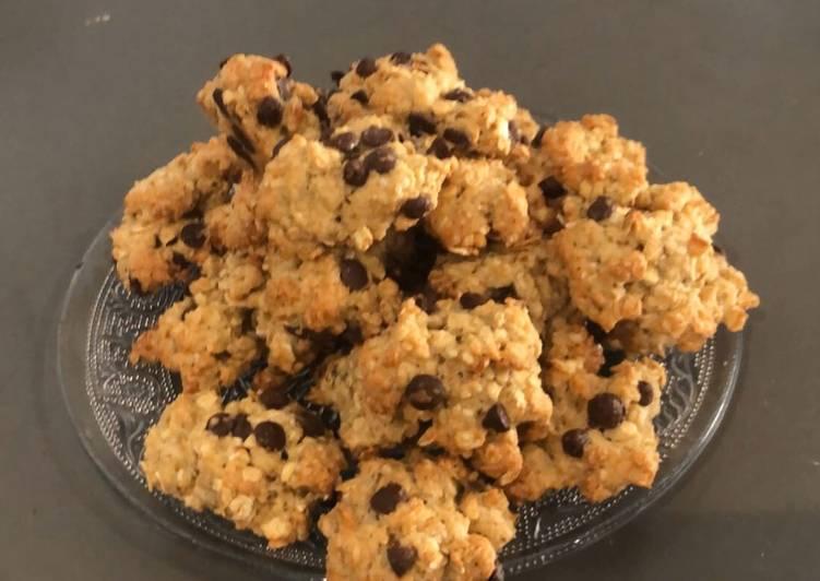 La Meilleur Recette De Rocher cookies à l'avoine