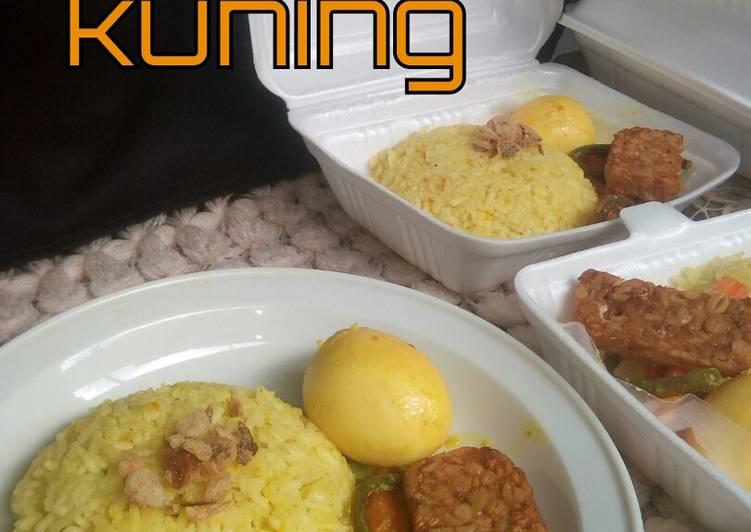 Nasi kuning (magic com) - cookandrecipe.com