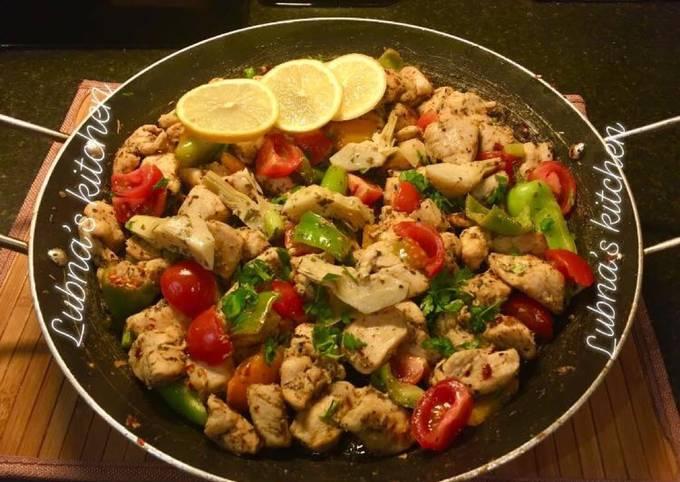 Mediterranean Chicken: