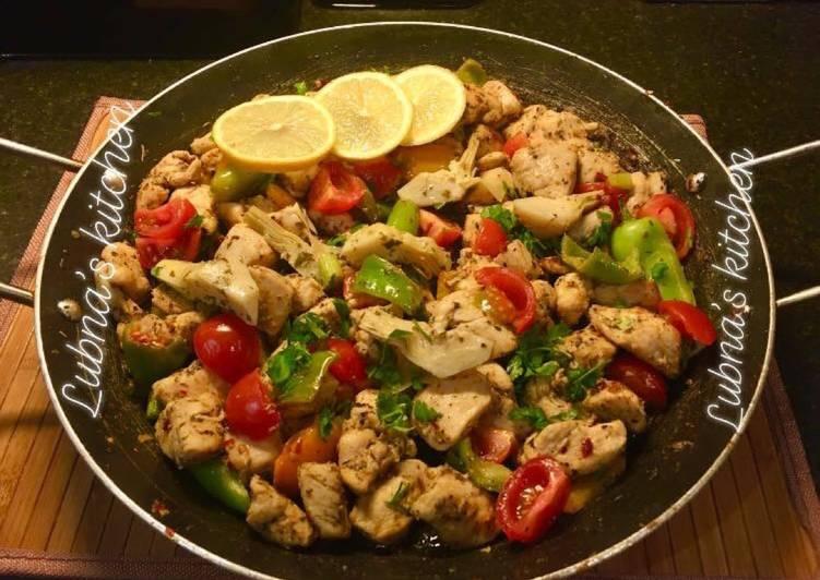 Recipe of Top-Rated Mediterranean Chicken: