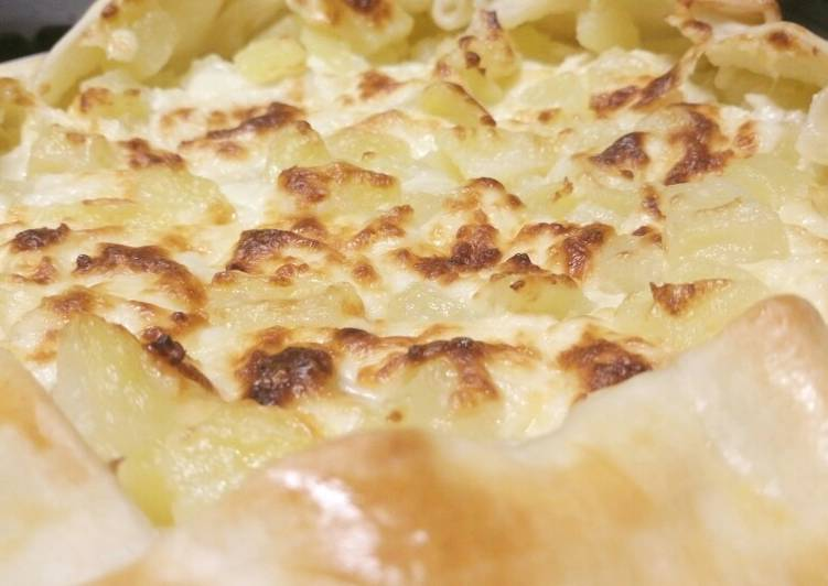 Recipe of Super Quick Homemade Rustic cheese and potato pie