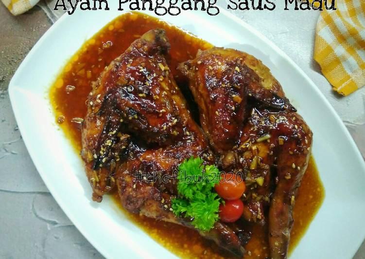 Ayam Panggang Saus Madu - cookandrecipe.com