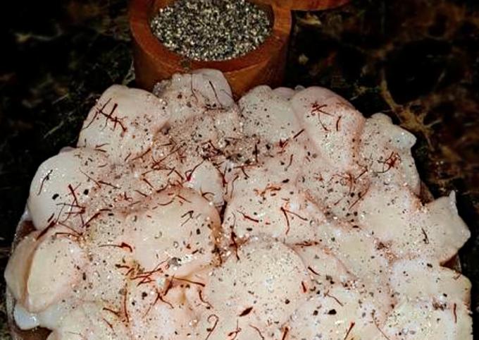Mike's Himalayan Salt Block Lobster Tails & Sweet Saffron