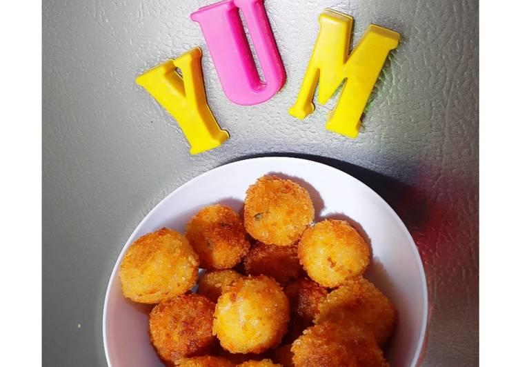 Resep Potato Vegetable Ball Yang Simple Pasti Sedap