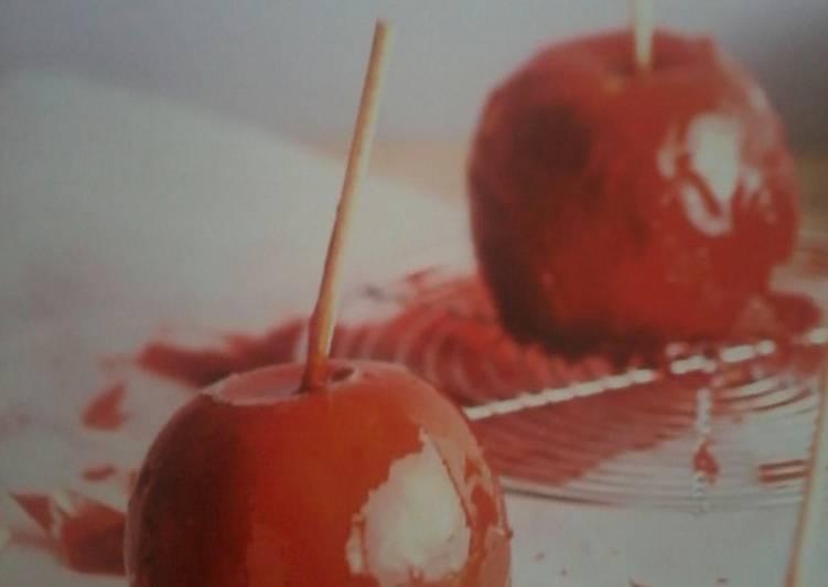 Comment Préparer Les Pomme d'Amour